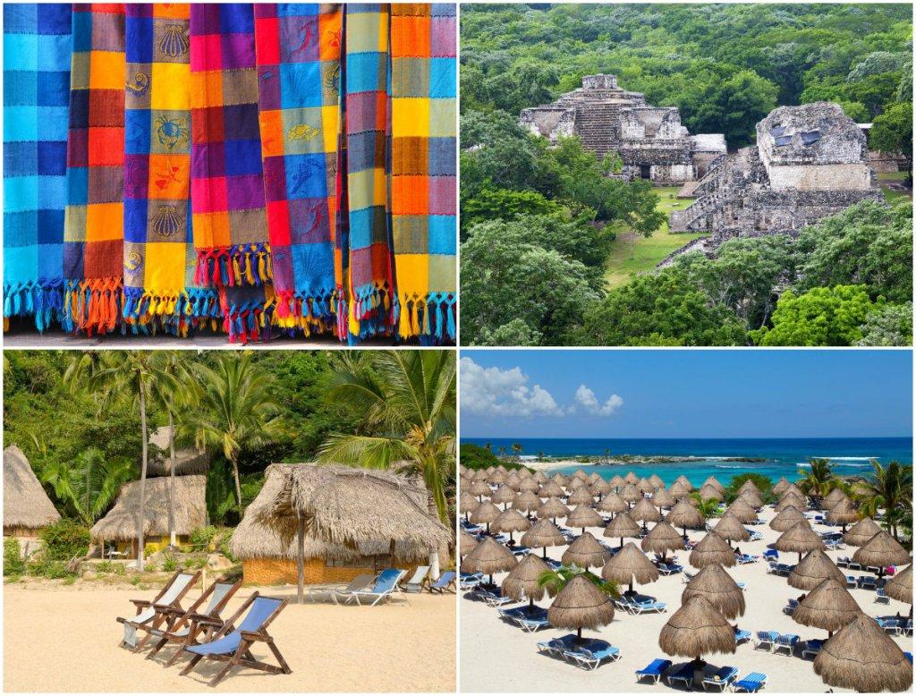 Riviera Maya i Riviera Nayarit w Meksyku
