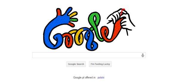 Przesilenie zimowe - Google zaprojektowa� Doodle z okazji pierwszego dnia zimy