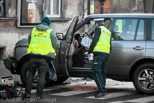 R�g al. Mickiewicza i ul. Czarnowiejskiej. Tutaj policja zatrzyma�a syna prokurator Anny Jedynak.