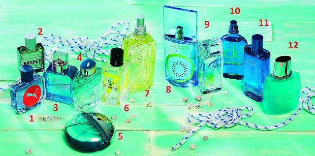 Zapach na lato: romans mięty z melonem , perfumy