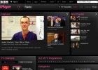 Strona, na której można oglądać BBC - BBC iPlayer