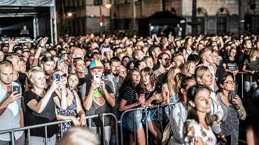 Moloko koncert na placu Wolnosci  podczas urodzin Miasta Lodzi