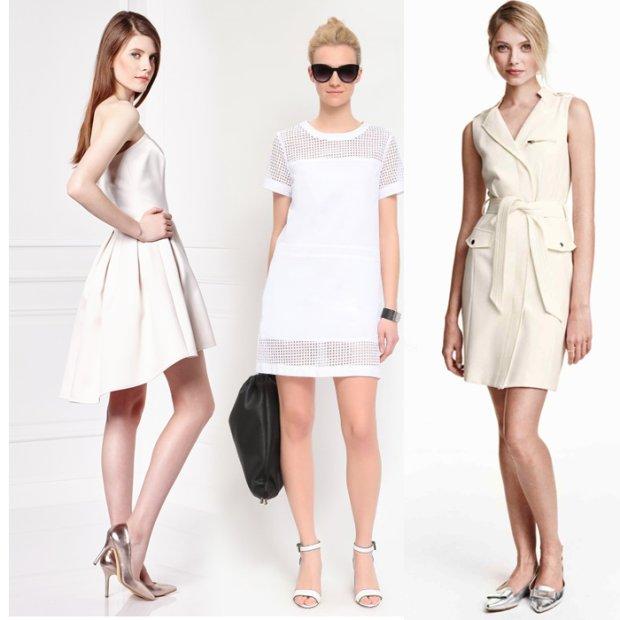 Bia�a sukienka nie tylko na �lub: koronkowa, w stylu boho, do pracy i na randk�