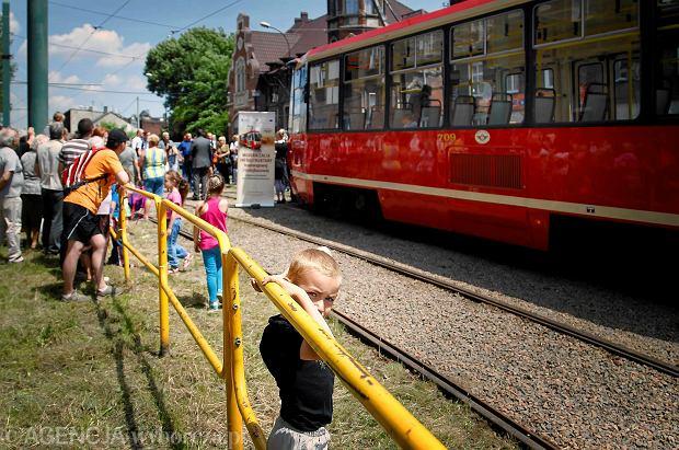 Bytom. Otwarcie linii tramwajowej nr 7 po remoncie