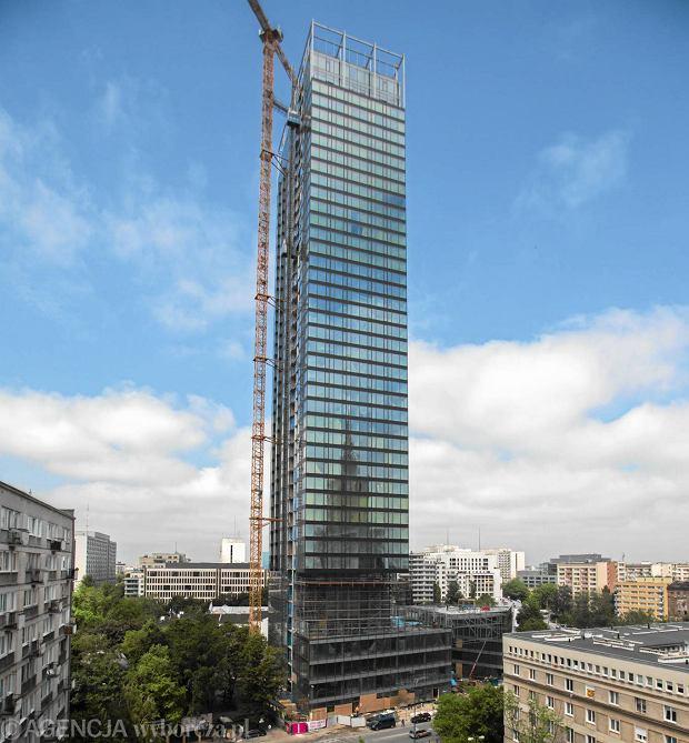 Apartamentowiec Cosmopolitan w Warszawie (Fot. Bartosz Bobkowski / Agencja Gazeta)