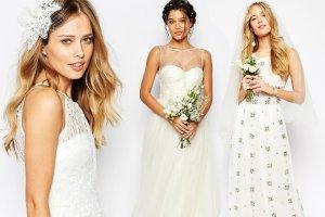 Najpierw suknie ślubne sieciówki, teraz z internetu? Te z ASOSa są niedrogie i zaskakująco ładne