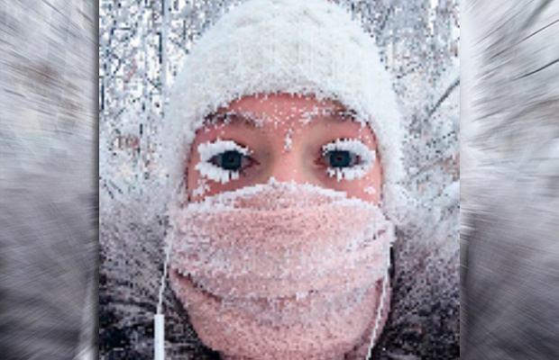 Zima w Jakucji