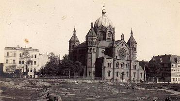 Nowa Synagoga przy ul. Łąkowej