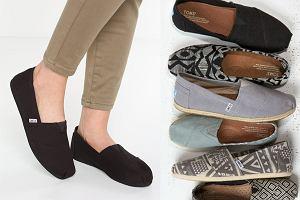 Tomsy - idealne buty na lato