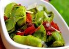 Zielone tortellini z serowym farszem