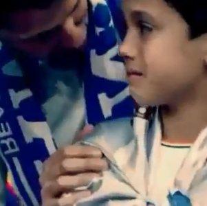 Cristiano Ronaldo niechc�cy uderzy� dziecko pi�k�. Podszed� do niego...