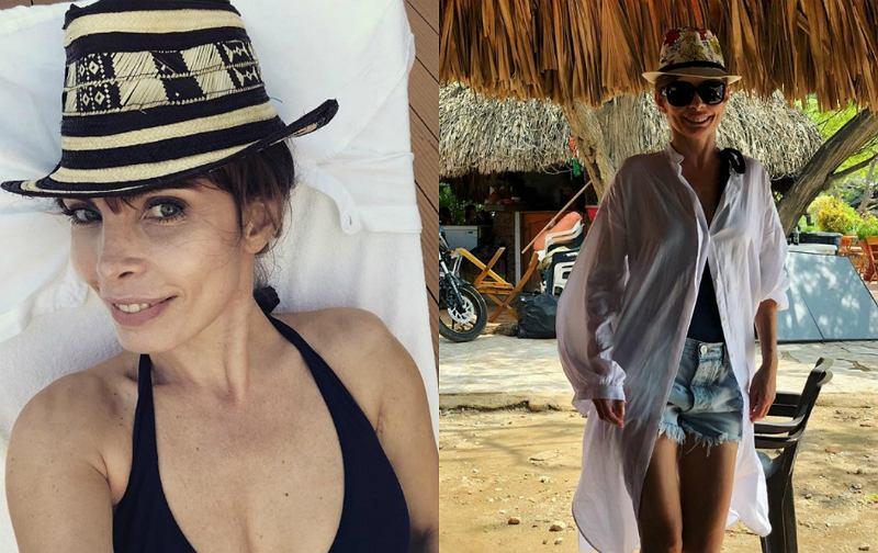 45-letnia Agnieszka Dygant kusi w Kolumbii. Fani 'Jakie ciało!'
