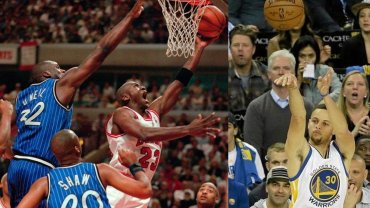 Michael Jordan i Stephen Curry