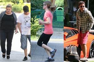 Chwiejne kroki Grycanki, jogging Kasi Tusk, w�z Wojew�dzkiego. Zobacz najlepsze zdj�cia paparazzi 2012!