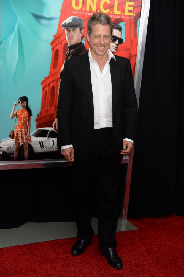 Hugh Grant attends New York Premiere of