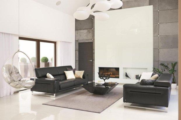 Nowoczesna, świetlista przestrzeń mieszkalna, która zaskakuje ciekawymi rozwiązaniami i designerskimi dekoracjami.