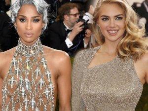 Gwiazdy w sukniach z sieci�wki gala Met 2016
