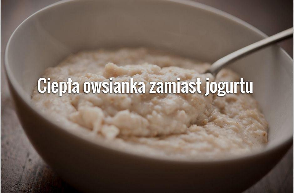 Zimą na śniadanie zamiast jogurtu lub serka homogenizowanego, jedz ciepłe kasze i owsianki z bakaliami