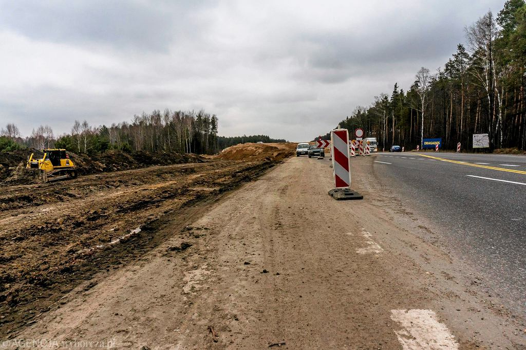 Budowa trasy S7