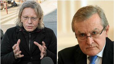 Poseł Krzysztof Mieszkowski i minister Piotr Gliński