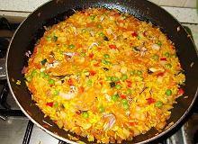 Hiszpańska paella - ugotuj