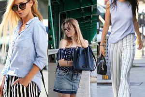 9daa7e0322170 Fokus na modę: marynarski szyk w wersji casual