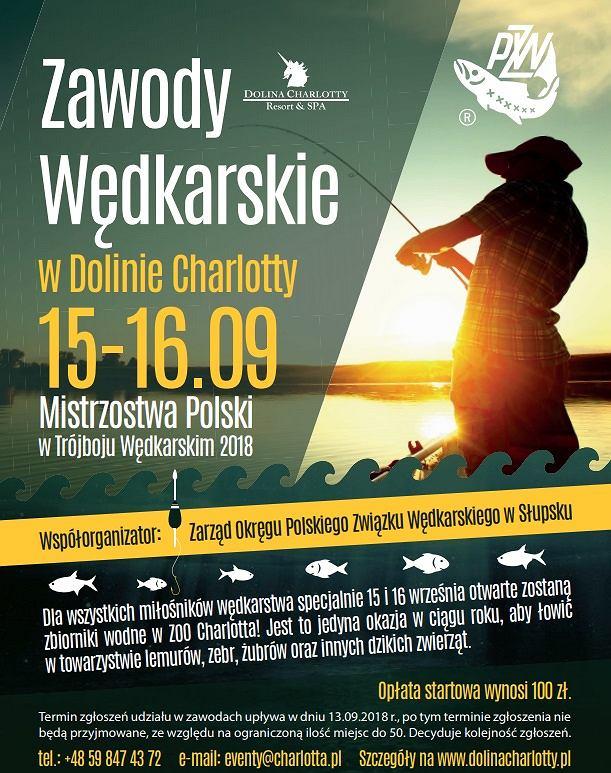 Mistrzostwa Polski w Trójboju Wędkarskim w Dolinie Charlotty