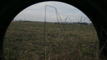 Obice koło Kielc. Tereny, na których powstać ma lotnisko