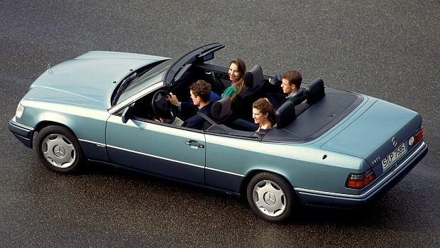 mercedes w124 cabriolet 25 urodziny kultowego modelu. Black Bedroom Furniture Sets. Home Design Ideas