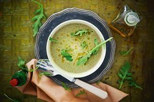 Kwaśna zupa z rukoli