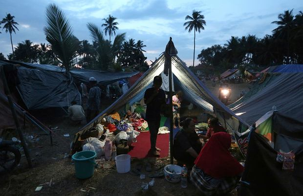 Lombok po trzęsieniu ziemi