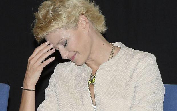 Tabloidy informuj�, �e Radwa�ska zostanie matk� chrzestn� dziecka Ko�uchowskiej. A aktorka na to...