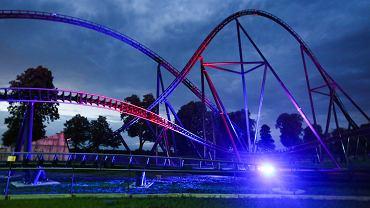 Energylandia. Otwarcie rollercoastera Hyperion.