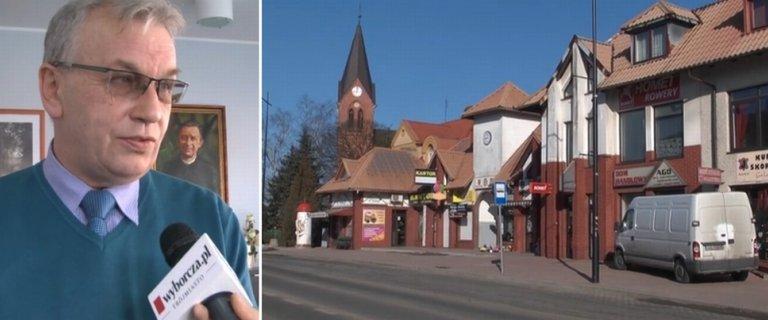 W�jt staje na g�owie, �eby w Sierakowicach nie by�o dyskontu. ''We wsi mamy wystarczaj�co sklep�w''