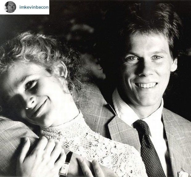 Kevin Bacon i Kyra Sedgwick / Screen z Instagram.com/Kevin Bacon