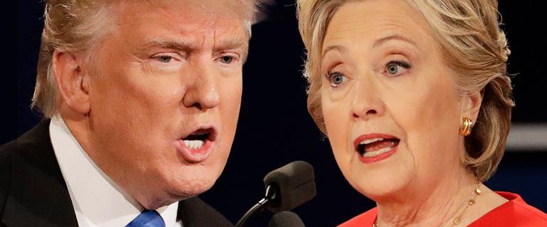 To, �e Clinton by�a w czerwieni, to nie przypadek. Tak si� robi debaty w USA!