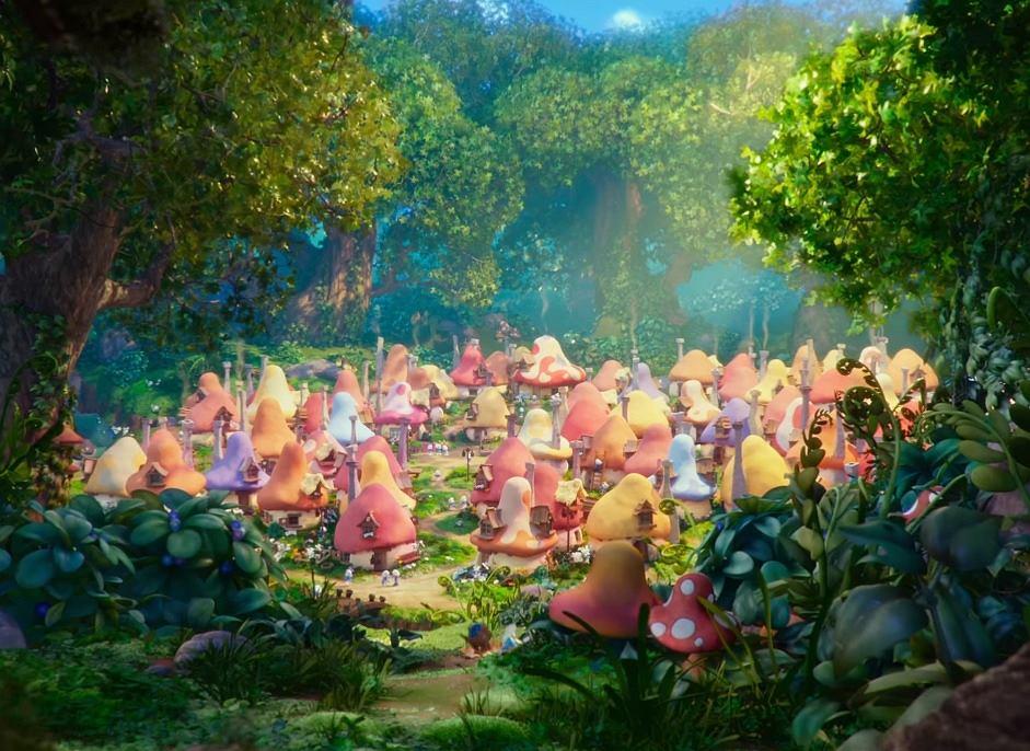 Kadr z filmu: 'Smerfy: Poszukiwacze zaginionej wioski'