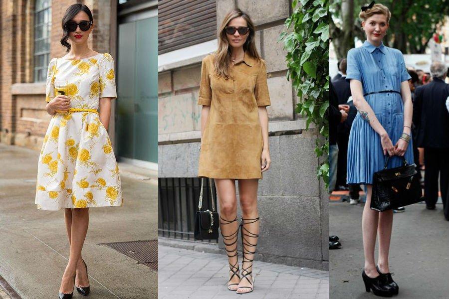 839728b0fc Sukienka w stylu retro  ponadczasowe fasony na wiosnę