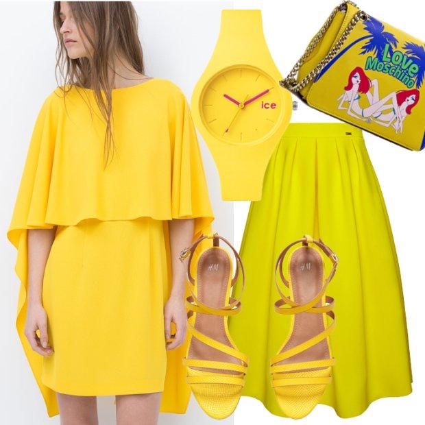 22a3653fd5151 W pełnym słońcu czyli ubrania i dodatki w kolorze żółtym - zdjęcie nr 1