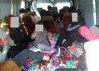 Kontrola ITD: 22 Bułgarów, w tym dzieci, podróżowało 9-osobowym busem. Jechali z Bułgarii do Radomia