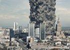 Tyle gruzu zosta�o z Warszawy. Starczy�oby na najwi�kszy drapacz chmur Europy [WIZUALIZACJA]