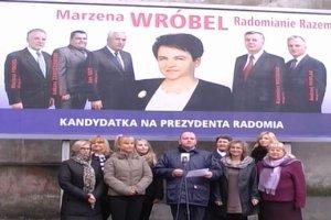 """Piosenka o Marzenie Wr�bel nowym hitem kampanii samorz�dowej. """"Pierwszy raz w �yciu jestem muz�"""""""