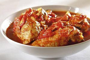 Hiszpańska potrawka z kurczaka (Pollo a la chilindron)