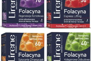 Linia kosmetyk�w przeciwzmarszczkowych Lirene Folacyna