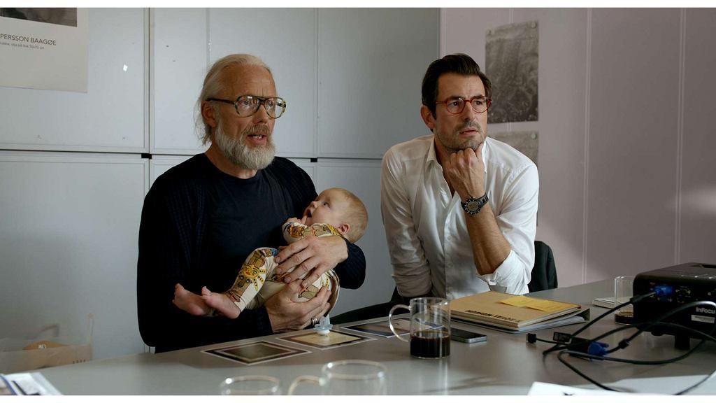 Kadr z filmu 'The Square' / Materiały prasowe Gutek Film