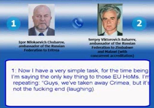 Czy nagranie rozmowy rosyjskich dyplomatów jest autentyczne?