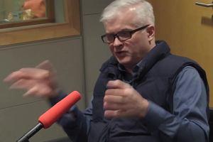 Cimoszewicz o nagonce na Wałęsę: Obecna władza to śledziennicy. Wydobywają z ludzi to, co najgorsze