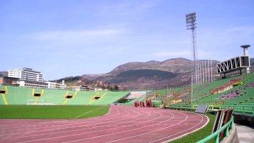 Stadion Asim Ferhatović Hase w Sarajewie