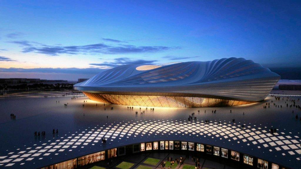 Wizualizacja stadionu Al Wakrah - MŚ 2022