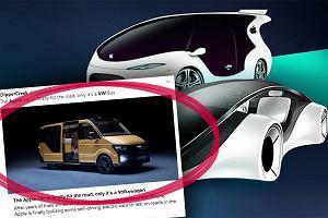 Apple jednak stworzy swój samosterujący samochód elektryczny? Ma powstać we współpracy z Volkswagenem